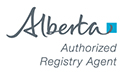 Government of Alberta Licensed Registry Agent